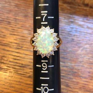 Jewelry - Costume Opal Ring